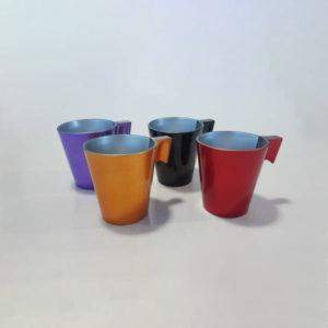Üveg csésze, csészealj